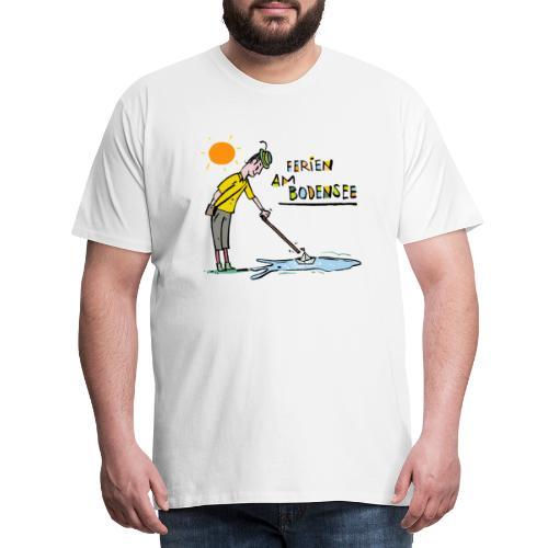 Bodensee Ferien - Männer Premium T-Shirt