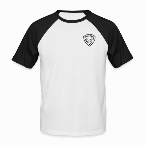 BULLS CLUB - Männer Retro-T-Shirt - Männer Baseball-T-Shirt