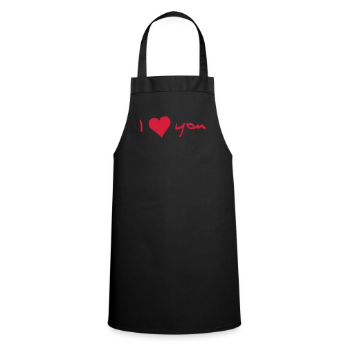 I Love you apron - Cooking Apron