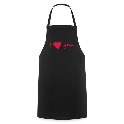 I Love you apron - Cooking Apron