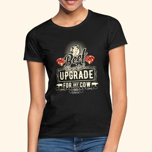 Lustiges Grill T Shirt Beef Is The Perfect Update  - Frauen T-Shirt