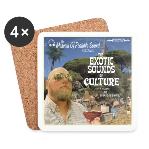 Exotica Cocktail Coasters - Coasters (set of 4)