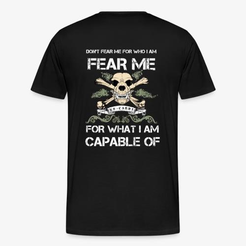 Fear Sweater Man  - Men's Premium T-Shirt