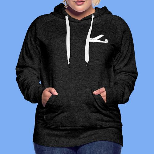 ka2 Segelflugzeug Segelflieger Flieschen Bekleidung Shop T-Shirt Geschenkidee - Women's Premium Hoodie