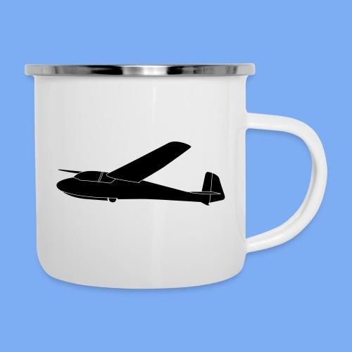 ka2 Segelflugzeug Segelflieger Flieschen Bekleidung Shop T-Shirt Geschenkidee - Camper Mug