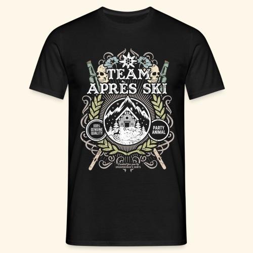 Apres Ski T Shirt Team Apres Ski | Sepia - Männer T-Shirt