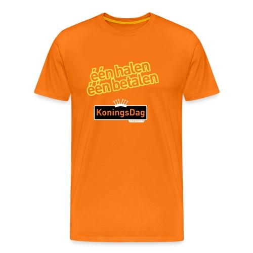 Koningsdag shirt 1 halen, 1 betalen - Mannen Premium T-shirt
