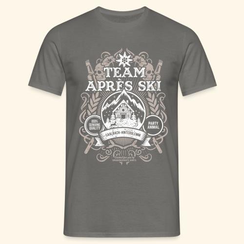 Saalbach-Hinterglemm T Shirts| Apres Ski | Party - Männer T-Shirt
