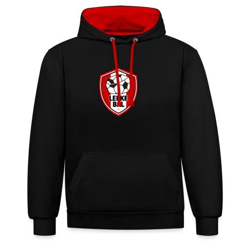 Lekke Bal FC unisex hoodie - Contrast hoodie