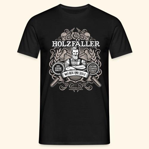 Holzfäller T Shirt - Männer T-Shirt