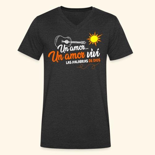 Un amor... - T-shirt bio col V Stanley & Stella Homme