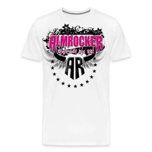 AR Kreis Logo Premium Shirt - Männer Premium T-Shirt