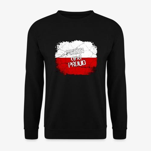 Männer Pullover Polish and Proud Stolzer Pole Stolze Polin - Männer Pullover