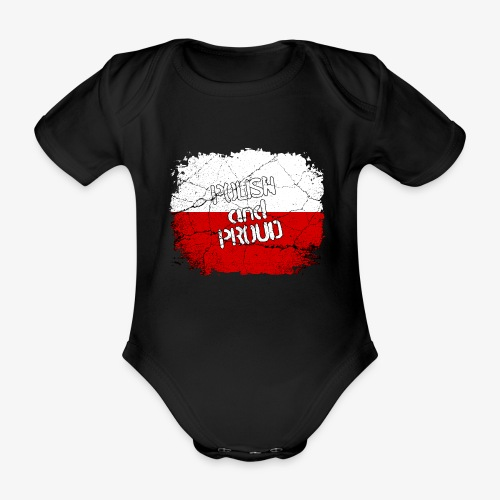 Baby Bio-Kurzarm-Body Polish and Proud Stolzer Pole Stolze Polin - Baby Bio-Kurzarm-Body