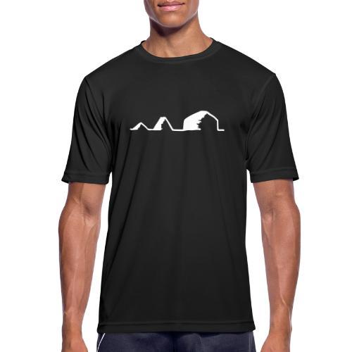 Schwarzzeltevolution - Männer T-Shirt atmungsaktiv