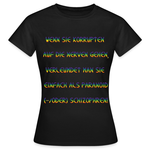 VERLEUMDUNG - Women's T-Shirt