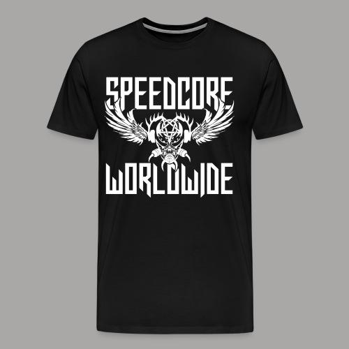 SCWW Men T-Shirt 2K19 (Black) (Designed by Mattia Travaglini) - Männer Premium T-Shirt