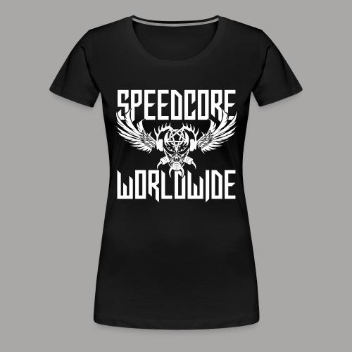 SCWW Woman T-Shirt 2K19 (Black) (Designed by Mattia Travaglini) - Frauen Premium T-Shirt