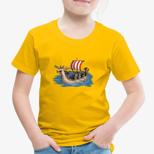 Viking Moose - Kids' Premium T-Shirt