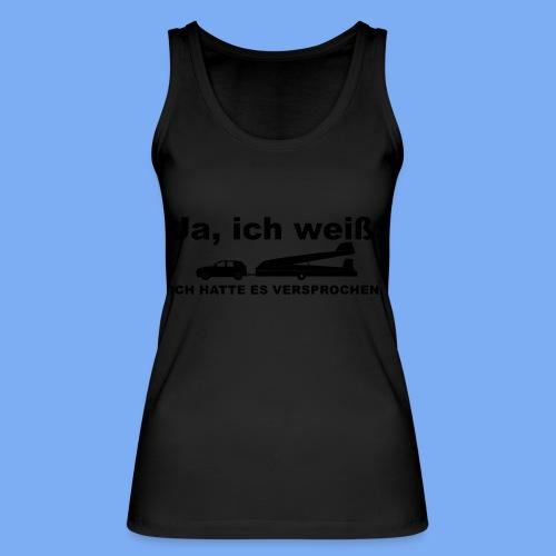 König der Außenlandung - Segelflieger T-Shirt - Women's Organic Tank Top by Stanley & Stella