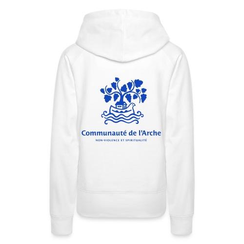 Communauté de l'Arche F - Sweat-shirt à capuche Premium pour femmes