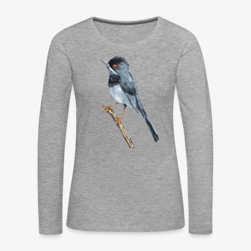 Rüppells grasmus dames longsleeve - Vrouwen Premium shirt met lange mouwen