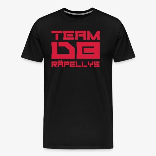 team db räpellys - t-paita - Miesten premium t-paita