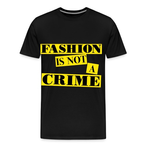 FASHIONISNOTACRIME-MAN - Men's Premium T-Shirt