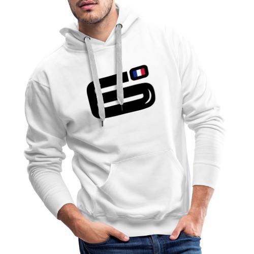 6Bulle Sweat Bleu Blanc Rouge - Sweat-shirt à capuche Premium pour hommes