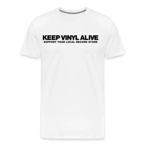 Keep Vinyl Alive - Männer Premium T-Shirt