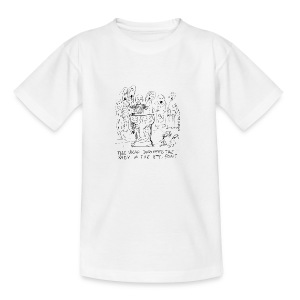 The vicar dropped the baby in the 11th century font - Teenage T-shirt