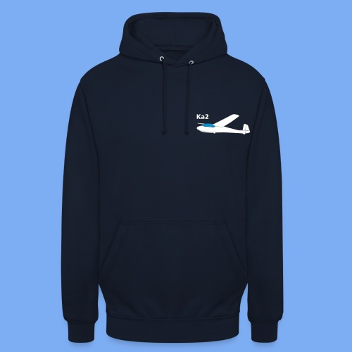ka2 Segelflugzeug Segelflieger Flieschen Bekleidung Shop T-Shirt Geschenkidee - Unisex Hoodie