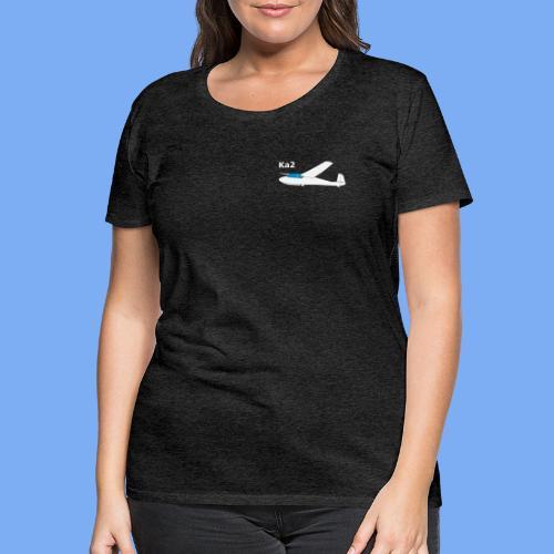 ka2 Segelflugzeug Segelflieger Flieschen Bekleidung Shop T-Shirt Geschenkidee - Women's Premium T-Shirt