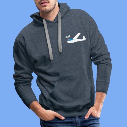 ka2 Segelflugzeug Segelflieger Flieschen Bekleidung Shop T-Shirt Geschenkidee - Men's Premium Hoodie