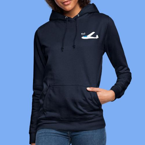 ka2 Segelflugzeug Segelflieger Flieschen Bekleidung Shop T-Shirt Geschenkidee - Women's Hoodie