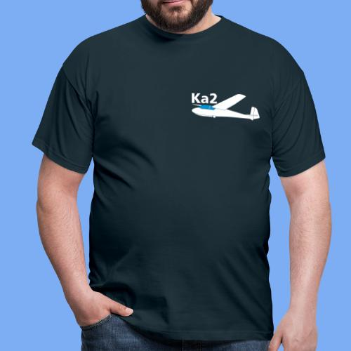 ka2 Segelflugzeug Segelflieger Flieschen Bekleidung Shop T-Shirt Geschenkidee - Men's T-Shirt