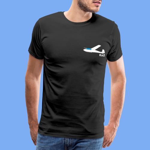 ka2 Segelflugzeug Segelflieger Flieschen Bekleidung Shop T-Shirt Geschenkidee - Men's Premium T-Shirt