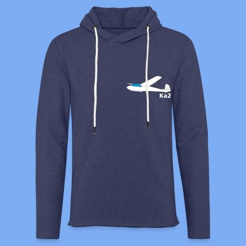 ka2 Segelflugzeug Segelflieger Flieschen Bekleidung Shop T-Shirt Geschenkidee - Light Unisex Sweatshirt Hoodie