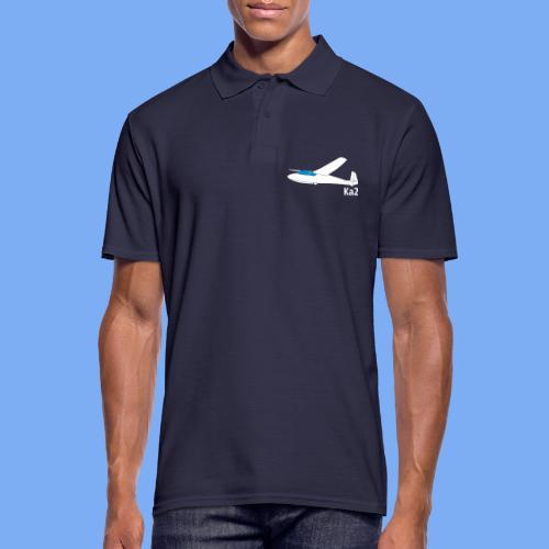 ka2 Segelflugzeug Segelflieger Flieschen Bekleidung Shop T-Shirt Geschenkidee - Men's Polo Shirt