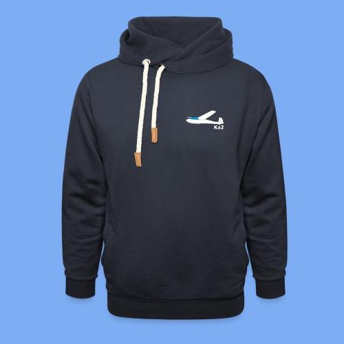 ka2 Segelflugzeug Segelflieger Flieschen Bekleidung Shop T-Shirt Geschenkidee - Shawl Collar Hoodie