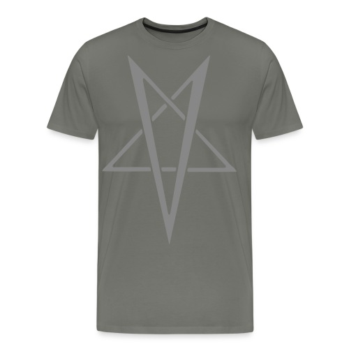 Classic Vrangogram asphalt - Men's Premium T-Shirt