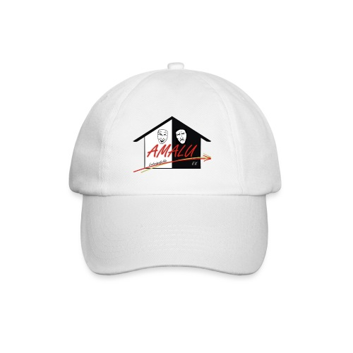Base Cap weiß - Baseballkappe