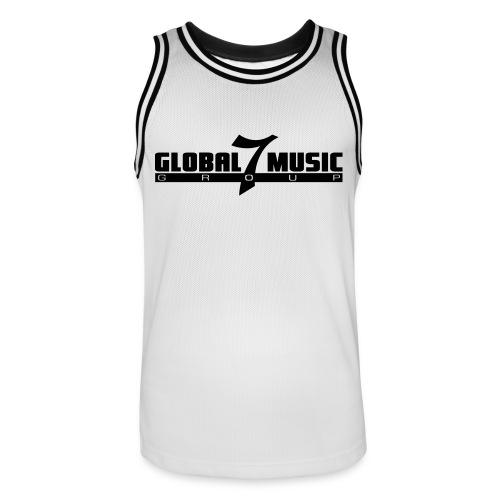 Global 7 Music Trikot  - Männer Basketball-Trikot