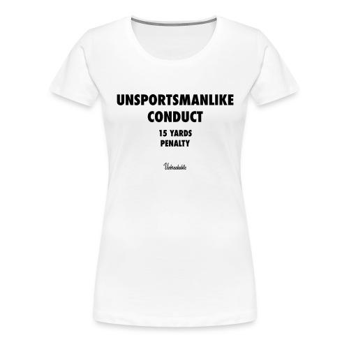 UNSPORTSMANLIKE - Women - T-shirt Premium Femme