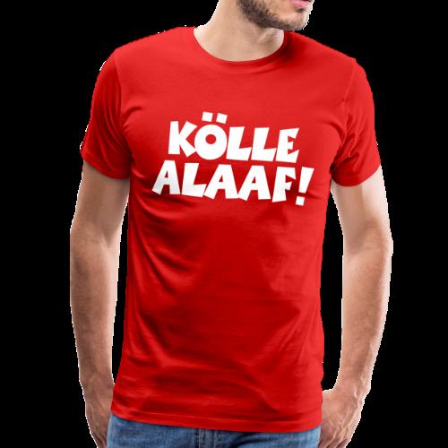 Kölle Alaaf (Weiß) Köln Kölner Karneval - Männer Premium T-Shirt