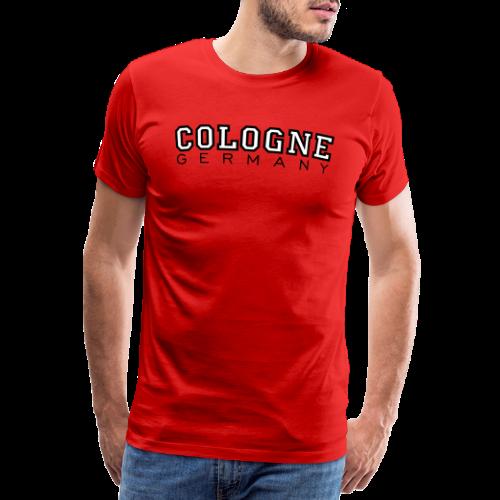 Cologne Germany (S/W) Köln Design aus Deutschland - Männer Premium T-Shirt