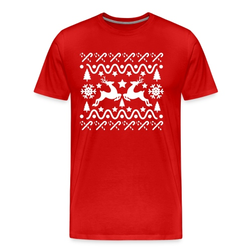 kerstmis tshirt - Mannen Premium T-shirt