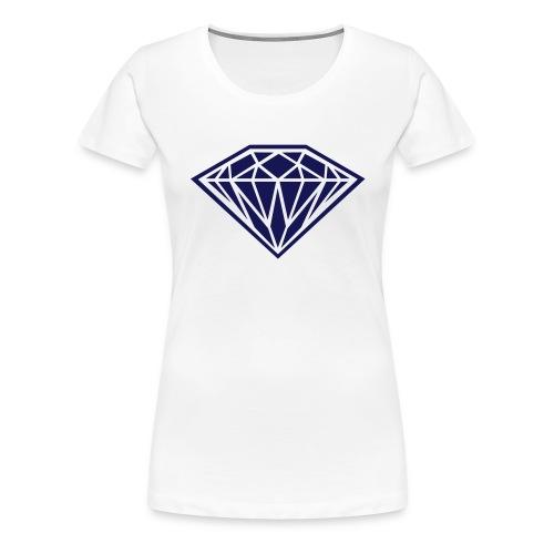diamant tshirt - Vrouwen Premium T-shirt