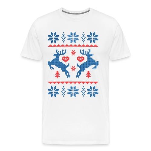 kerst tshirt - Mannen Premium T-shirt