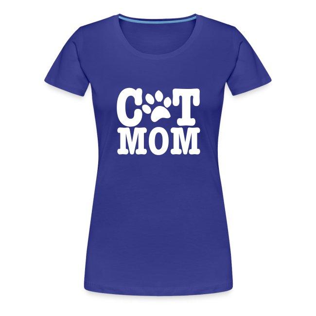 katten moeder tshirt